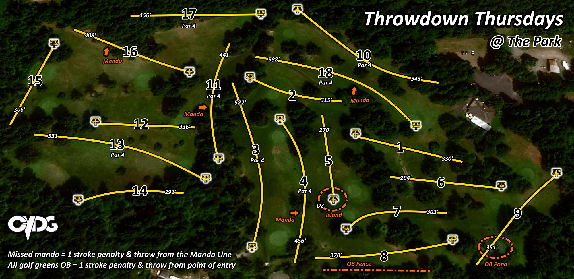 Fir Meadows Map